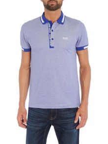 Hugo Boss Paule 4 slim fit oxford pique polo