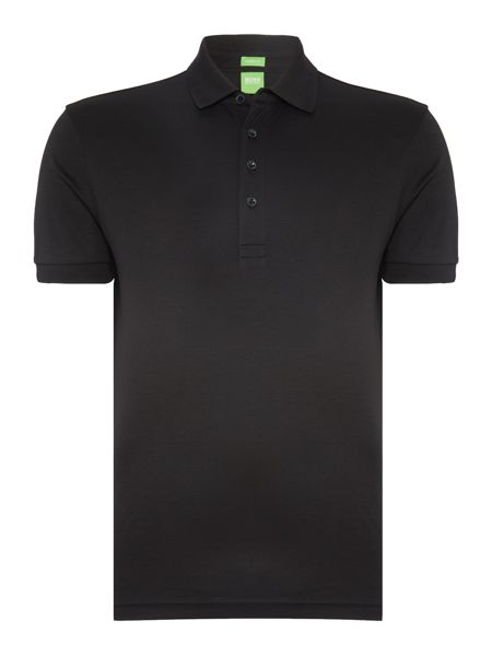 Hugo Boss C-rapino slim fit liquid cotton polo shirt