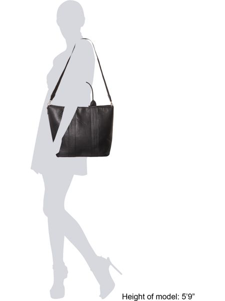 Pieces Black classic tote bag
