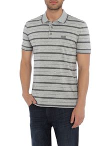 Hugo Boss Paddy 1 regular fit stripe polo shirt