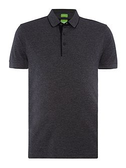 C-Janis slim fit fine stripe polo shirt