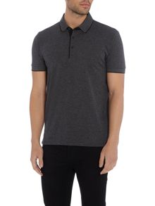 Hugo Boss C-Janis slim fit fine stripe polo shirt