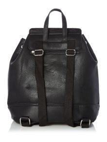 Pieces Black clean backpack