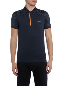 Hugo Boss Pavotech slim fit tech fabric polo shirt