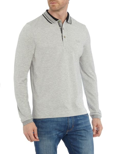 Hugo Boss Pleesy long sleeve slim fit polo