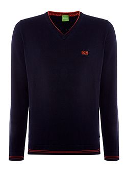 Vime v-neck jumper