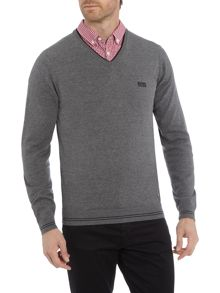 Hugo Boss Vime v-neck jumper