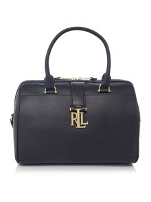 Lauren Ralph Lauren Carrington black large tote bag