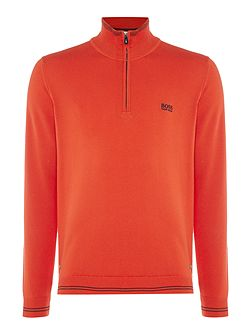 Zime half-zip funnel neck jumper