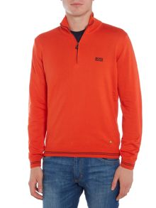 Hugo Boss Zime half-zip funnel neck jumper