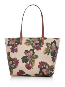 Lauren Ralph Lauren Bainbridge multi large tote bag