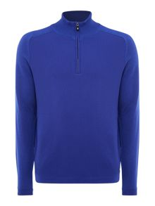 Hugo Boss Zop half zip wool jumper