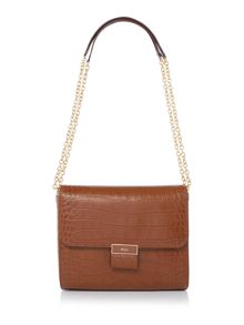 Lauren Ralph Lauren Lynwood tan jude shoulder bag