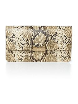 Lynwood multi snake farah clutch bag