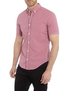Hugo Boss Baldasarnio small gingham check shirt