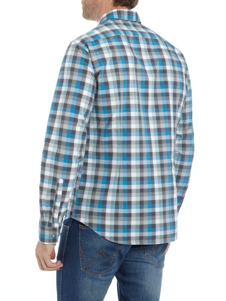 Hugo Boss C-Bustai long sleeve check shirt