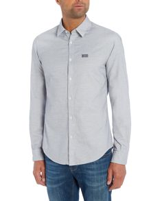 Hugo Boss C-buster textured long sleeve shirt