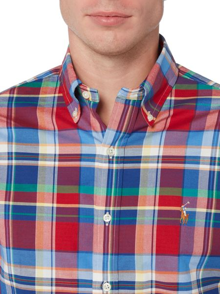 Polo Ralph Lauren Slim fit checked oxford shirt