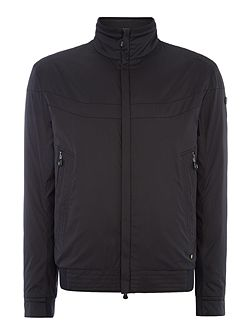 Jakes lightweight zip through bomber jacket