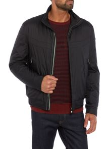 Hugo Boss Jakes lightweight zip through bomber jacket