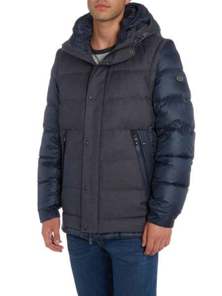 Hugo Boss Jiandro padded bomber jacket