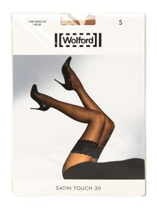 Wolford Satin touch 20 denier hold ups