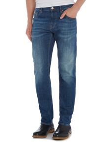 Hugo Boss C-maine regular fit mid wash jeans