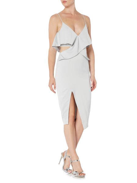 Talulah Cutout Split Midi Strappy Dress