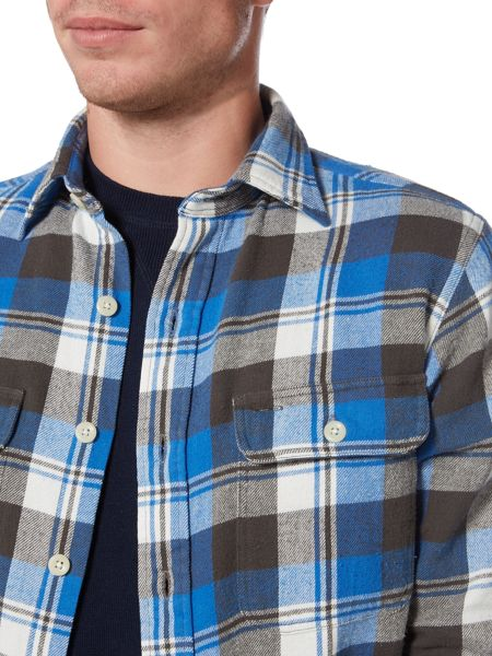 Polo Ralph Lauren Long sleeve bold check twill overshirt