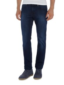 Hugo Boss C-delaware slim fit mid wash jeans