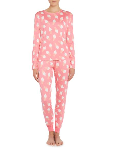 Chelsea Peers Ice cream long sleeve pyjama set