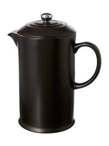 Le Creuset Cafetiere with Metal Press, Satin Black