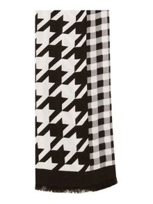 Linea Dogtooth and check print