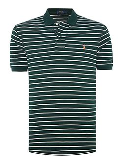 Pima soft touch striped polo shirt