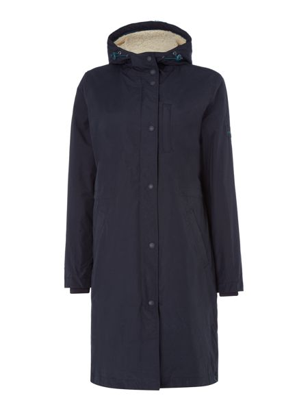 Joules Waterproof Parka Fleece Lining