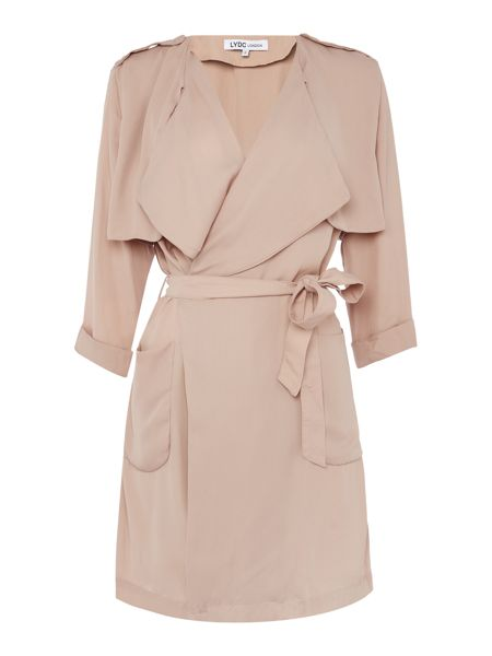 LYDC 3/4 Sleeve Trench Jacket