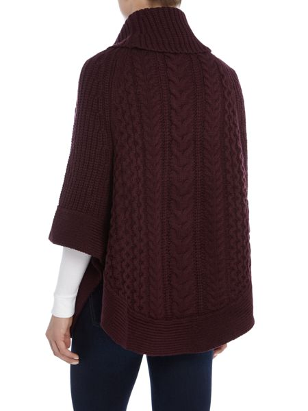 Joules Cable And Stitch Poncho