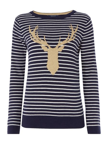 Joules Christmas Intarsia Knit Jumper