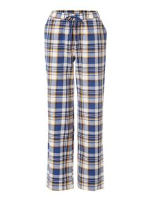 Dickins & Jones Ochre check pj trouser