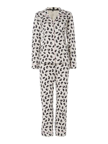 Therapy Cat revere pj set