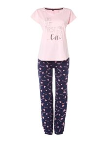 Therapy Coffee pj set