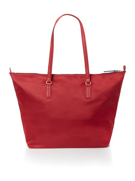Tommy Hilfiger Poppy red large tote bag