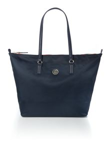 Tommy Hilfiger Poppy navy large tote bag