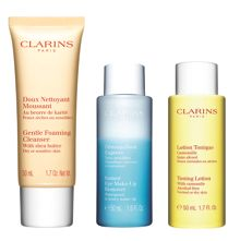 Clarins Cleansing Trousse for Dry or Sensitive Skin