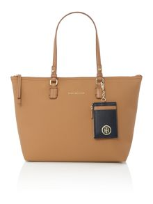 Tommy Hilfiger Love tommy neutral medium reversible tote bag