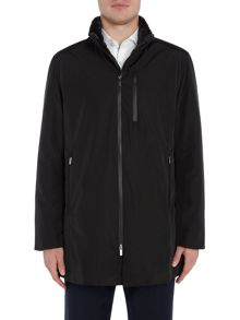Armani Collezioni Long Length Sports Caban Jacket