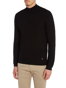 Armani Collezioni Long Sleeve High Neck Sweater
