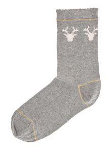Ted Baker Reindeer ankle socks