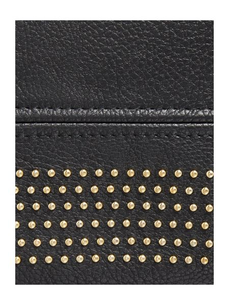 Pieces Studded tote bag