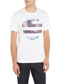 Perry Ellis America Hollywood Logo Short Sleeve T-shirt